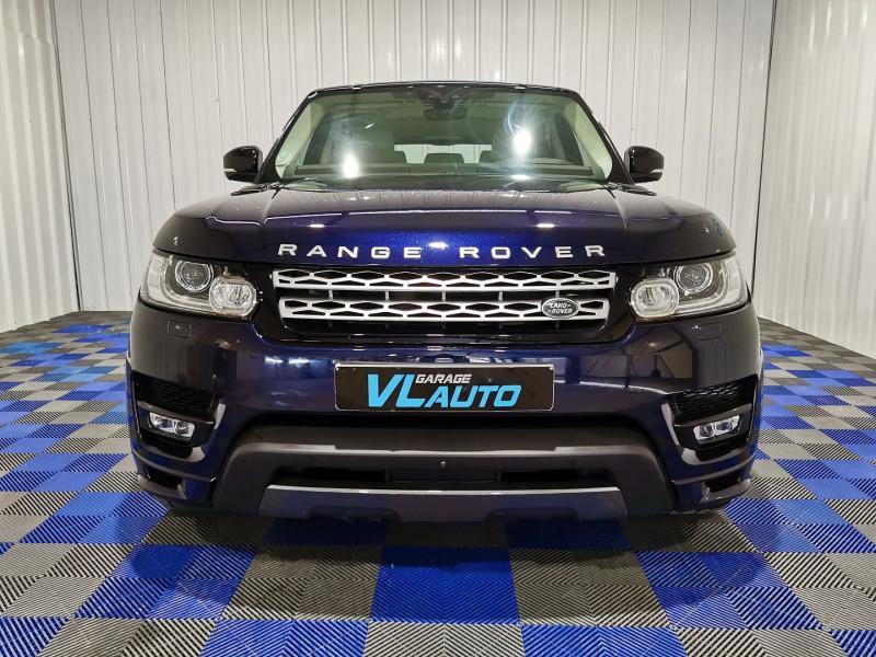 Land-Rover RANGE ROVER SPORT 3.0 SDV6 HYBRIDE 354CH AUTOBIOGRAPHY DYNAMIC MARK V Hybride BLEU F Occasion à vendre
