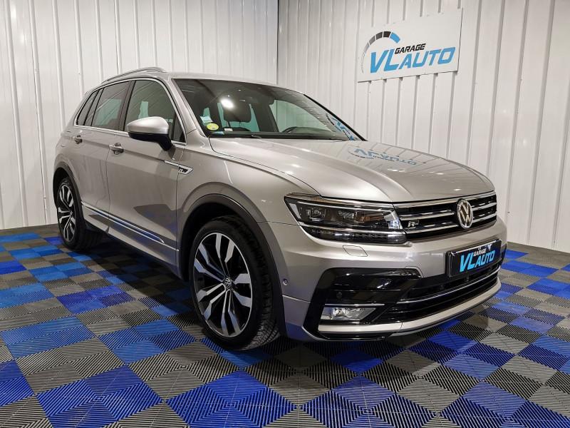 Volkswagen TIGUAN 2.0 TDI 150CH BLUEMOTION TECHNOLOGY CARAT EXCLUSIVE DSG7 Diesel GRIS F Occasion à vendre