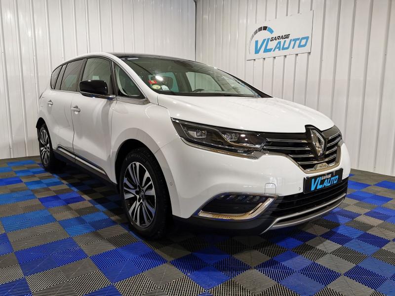 Renault ESPACE V 1.6 DCI 160CH ENERGY INITIALE PARIS EDC Diesel BLANC Occasion à vendre