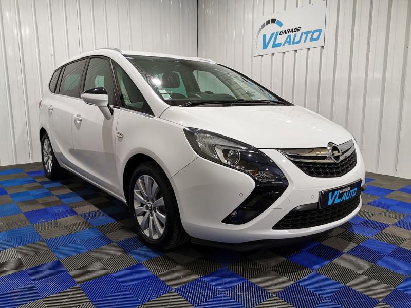 Opel ZAFIRA TOURER 1.6 CDTI 136CH ECOFLEX COSMO START/STOP 7 PLACES Diesel BLANC Occasion à vendre