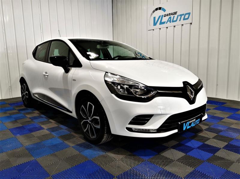 Renault CLIO 1.2 TCE 120CH ENERGY LIMITED 5P Essence BLANC Occasion à vendre