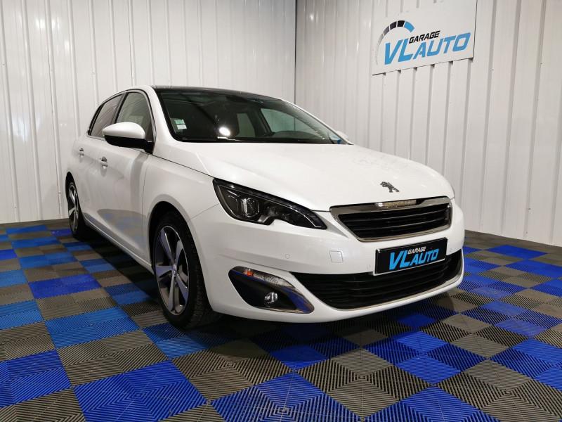 Peugeot 308 2.0 BLUEHDI FAP 150CH FELINE 5P Diesel BLANC Occasion à vendre