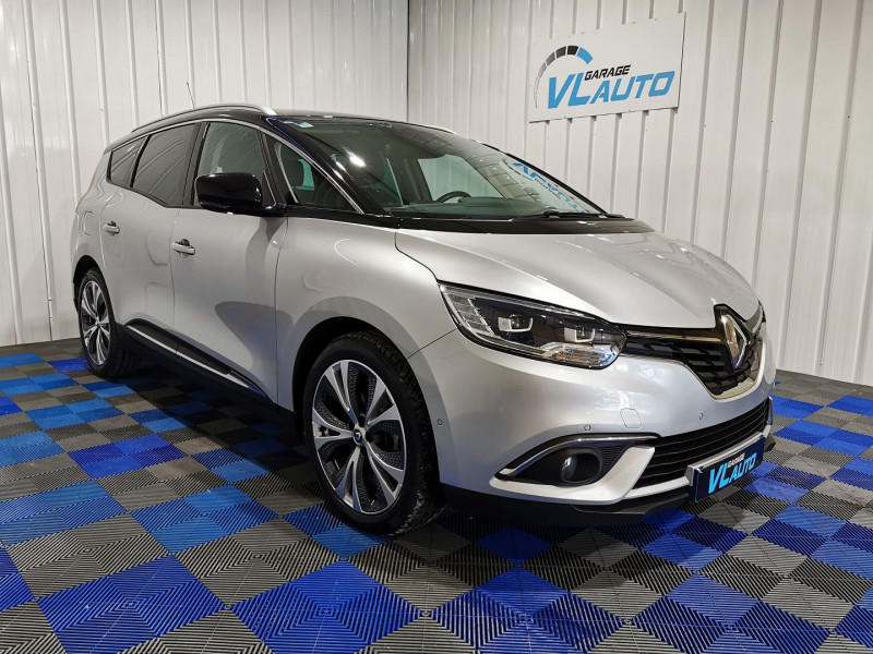 Renault GRAND SCENIC IV 1.6 DCI 160CH ENERGY INTENS EDC Diesel GRIS Occasion à vendre