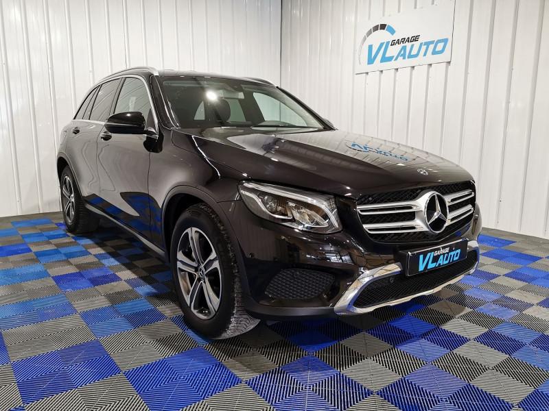 Mercedes-Benz GLC 220 D 170CH EXECUTIVE 4MATIC 9G-TRONIC EURO6C Diesel NOIR Occasion à vendre