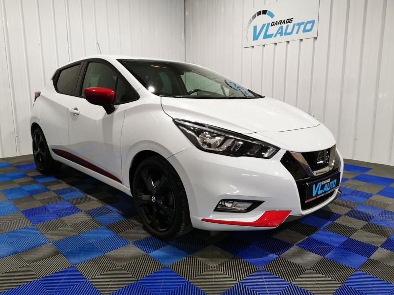 Nissan MICRA 0.9 IG-T 90CH N-LINE Essence BLANC Occasion à vendre