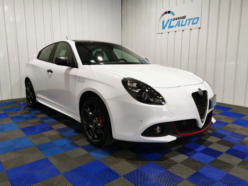 Alfa Romeo GIULIETTA 1.4 TB MULTIAIR 150CH IMOLA STOP&START Essence BLANC Occasion à vendre