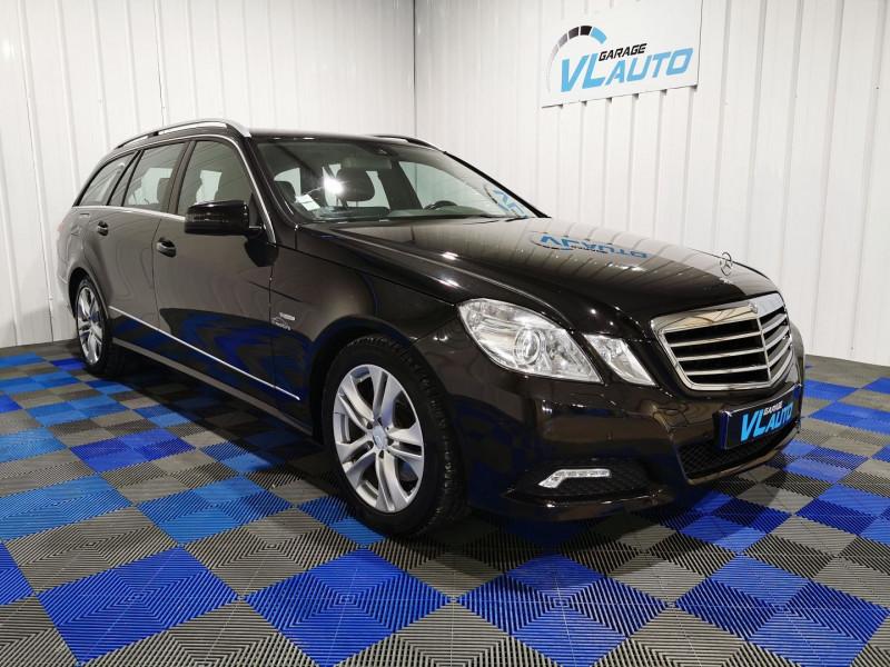 Mercedes-Benz CLASSE E BREAK (S212) 350 CDI AVANTGARDE EXECUTIVE 7GTRO+ Diesel NOIR Occasion à vendre
