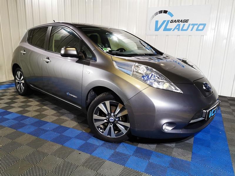 Nissan LEAF 109CH FLEX TEKNA Electrique GRIS Occasion à vendre