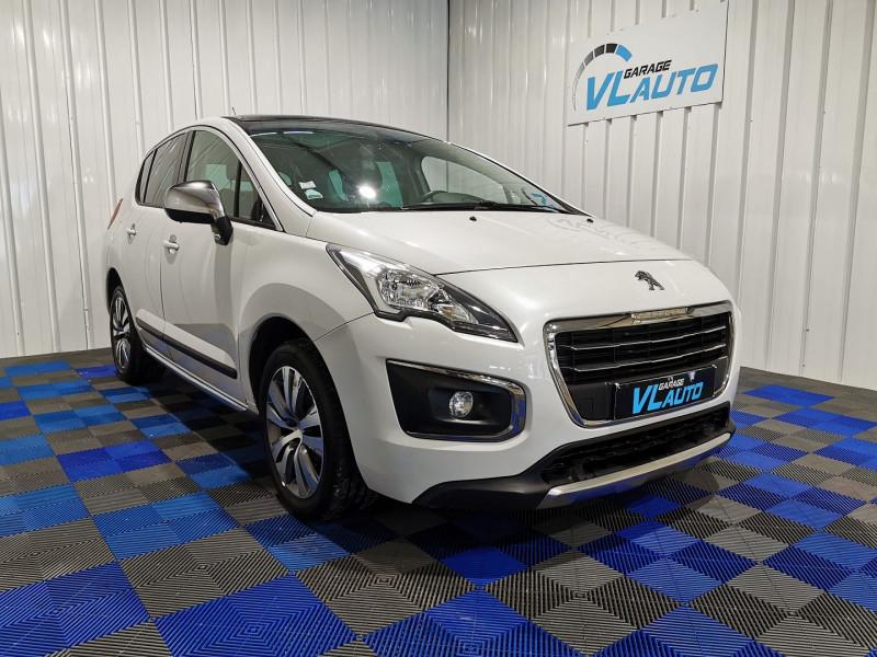 Peugeot 3008 1.6 HDI115 FAP ALLURE Diesel BLANC Occasion à vendre