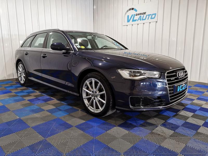Audi A6 AVANT 3.0 V6 TDI 272CH AVUS QUATTRO S TRONIC 7 Diesel BLEU C Occasion à vendre