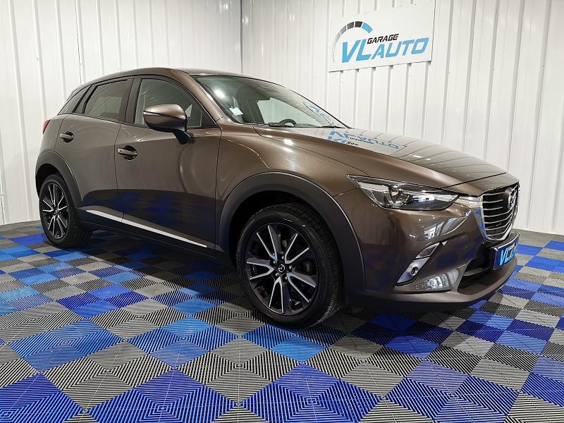 Mazda CX-3 1.5 SKYACTIV-D 105 SELECTION Diesel MARRON Occasion à vendre