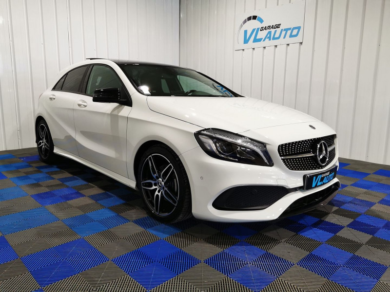 Mercedes-Benz CLASSE A (W176) 180 FASCINATION 7G-DCT Essence BLANC Occasion à vendre