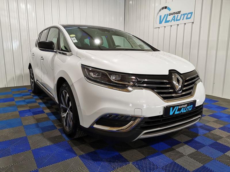 Renault ESPACE V 1.6 DCI 160CH ENERGY INTENS EDC Diesel BLANC Occasion à vendre