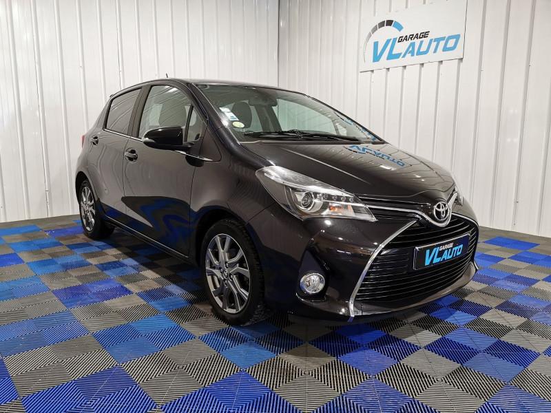 Toyota YARIS 90 D-4D LOUNGE TOUCH&GO 2 5P Diesel NOIR Occasion à vendre