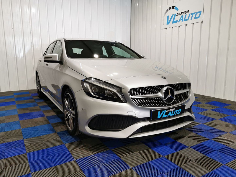 Mercedes-Benz CLASSE A (W176) 180 FASCINATION Essence GRIS Occasion à vendre