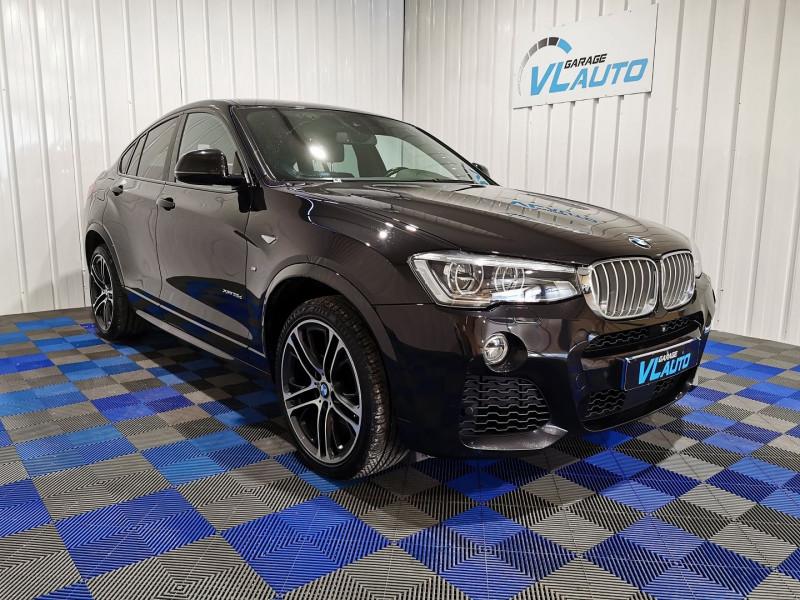 Bmw X4 (F26) XDRIVE35DA 313CH M SPORT Diesel NOIR Occasion à vendre