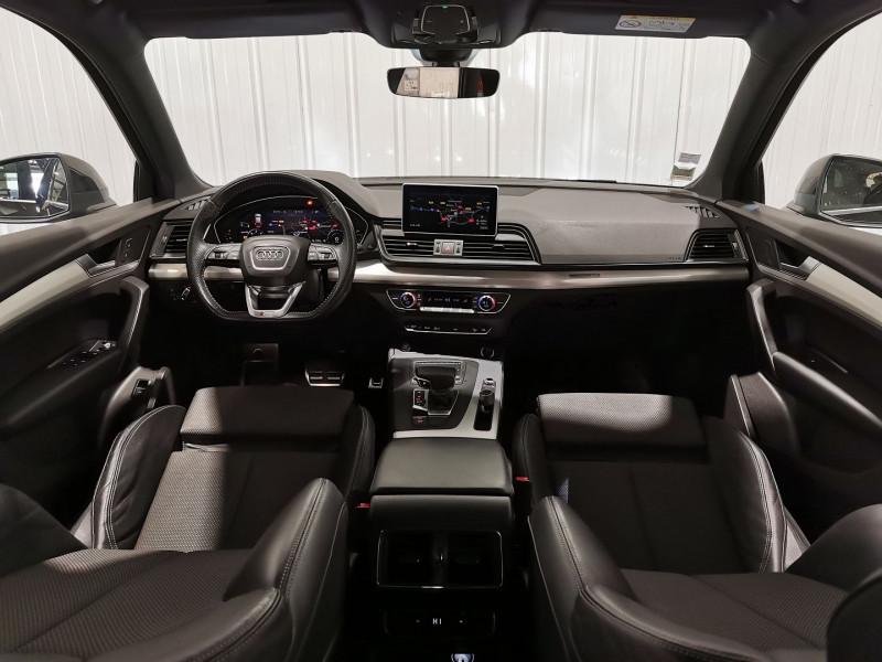 Audi SQ7 4.0 V8 TDI 435CH CLEAN DIESEL QUATTRO TIPTRONIC 5 PLACES Diesel NOIR Occasion à vendre