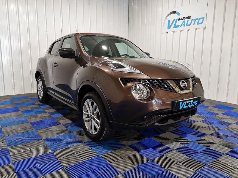 Nissan JUKE 1.2 DIG-T 115CH N-CONNECTA Essence MARRON Occasion à vendre