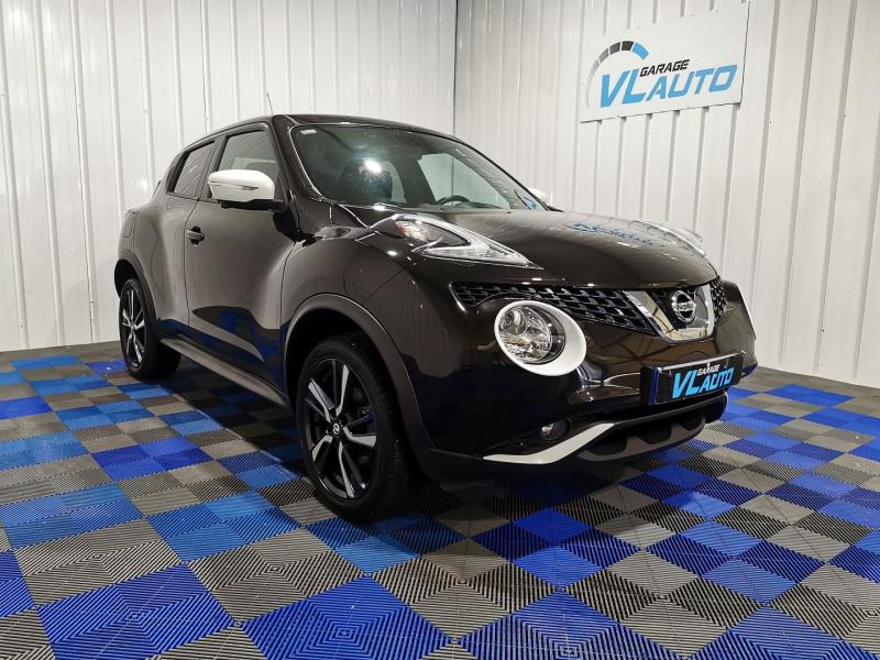 Nissan JUKE 1.2 DIG-T 115CH N-CONNECTA Essence NOIR Occasion à vendre