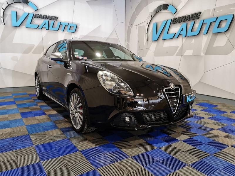 Alfa Romeo GIULIETTA 1.4 TB MULTIAIR 170CH TROFEO STOP&START Essence NOIR Occasion à vendre