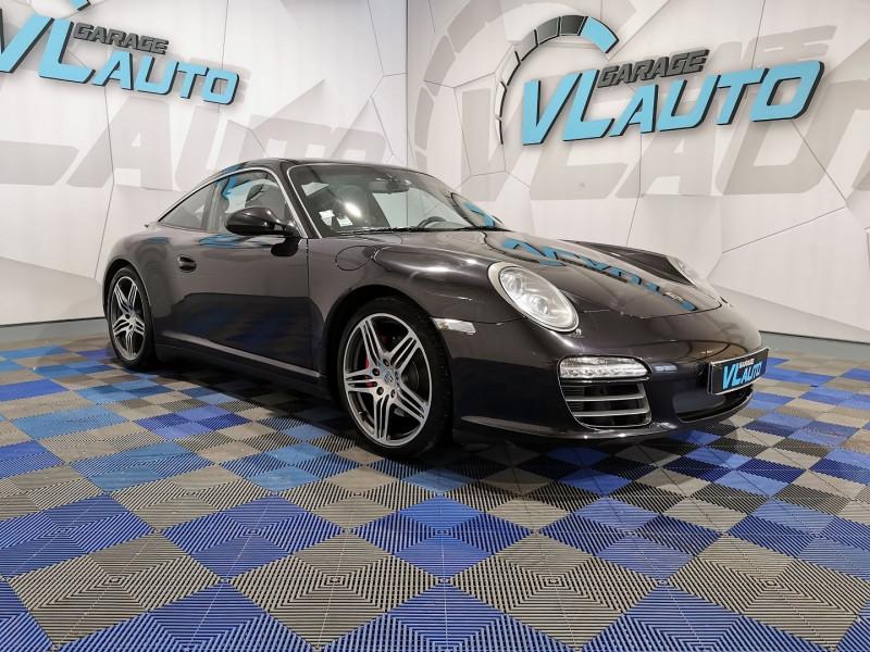 Porsche 911 TARGA (997) 4S Essence NOIR Occasion à vendre