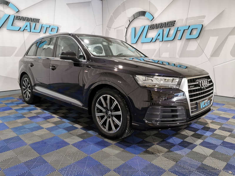 Audi Q7 3.0 V6 TDI 272CH CLEAN DIESEL AVUS QUATTRO TIPTRONIC 7 PLACES Diesel NOIR Occasion à vendre