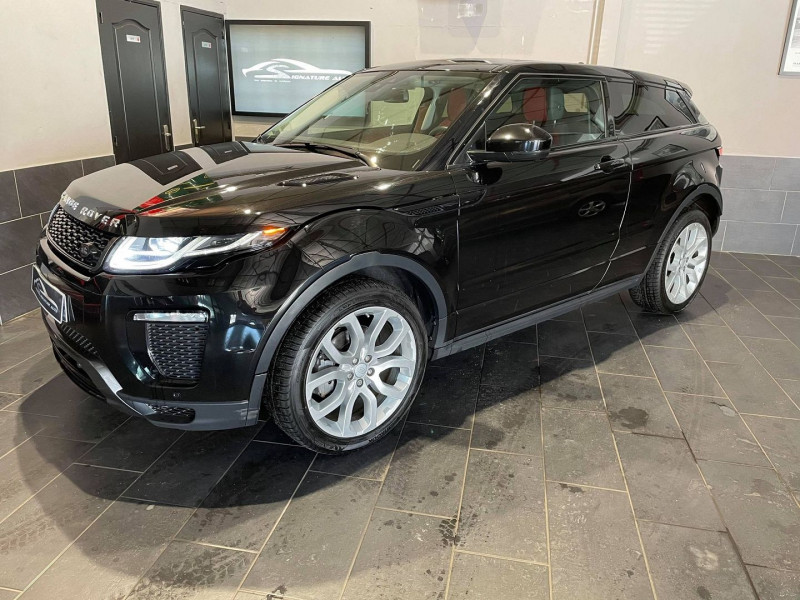 Land-Rover EVOQUE COUPE 2.0 TD4 180 HSE DYNAMIC BVA MARK IV 3P Diesel NOIR Occasion à vendre