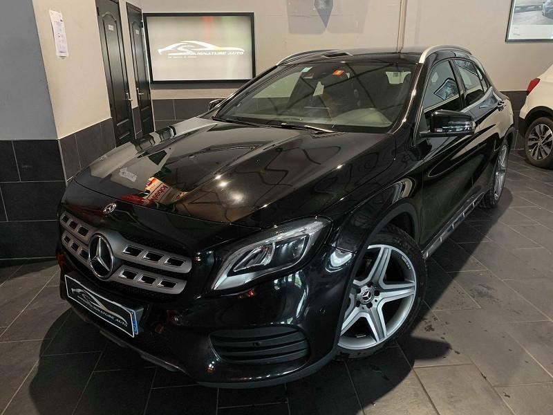 Mercedes-Benz CLASSE GLA (X156) 220 D 170CH FASCINATION 7G-DCT EURO6C Diesel NOIR Occasion à vendre
