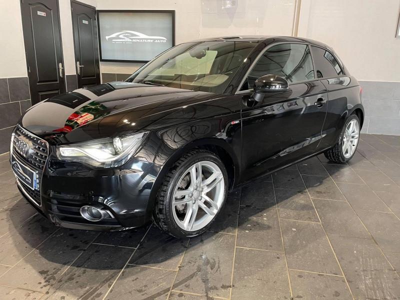 Audi A1 1.4 TFSI 140CH COD S LINE S TRONIC 7 Essence NOIR Occasion à vendre