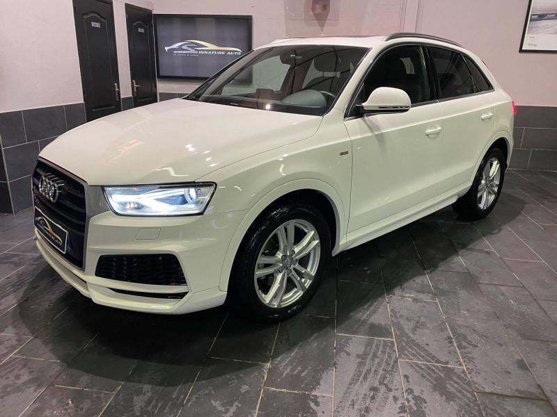 Audi Q3 1.4 TFSI 150CH COD S LINE S TRONIC 6 Essence BLANC Occasion à vendre