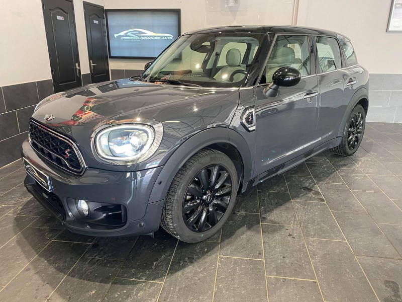 Mini COUNTRYMAN COOPER S 192CH EXQUISITE ALL4 BVA Essence GRIS Occasion à vendre