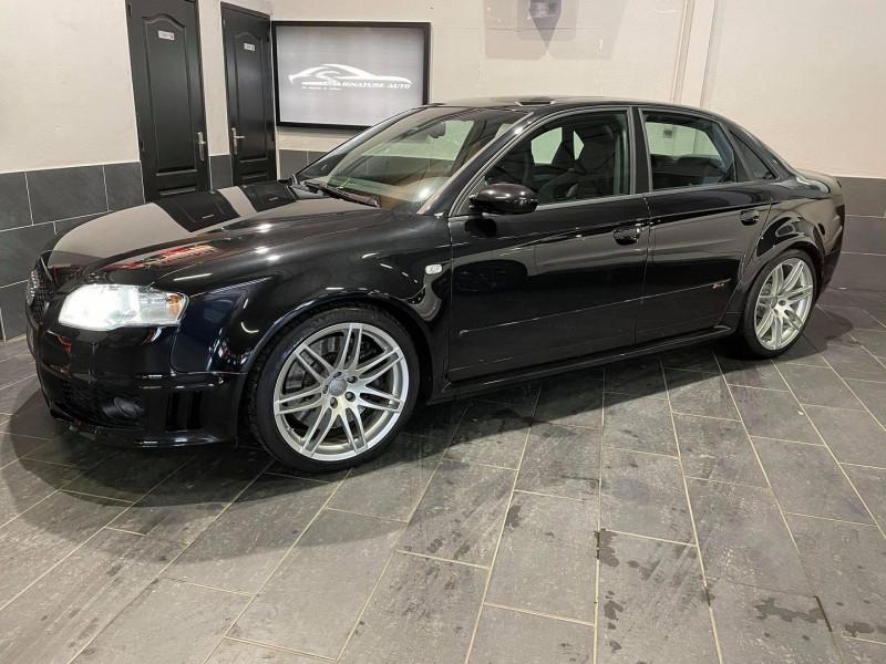 Audi RS4 4.2 V8 420CH QUATTRO Essence NOIR Occasion à vendre