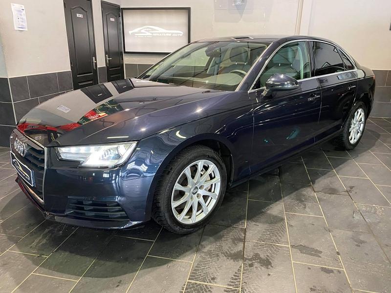 Audi A4 2.0 TDI 190CH ULTRA DESIGN Diesel BLEU Occasion à vendre