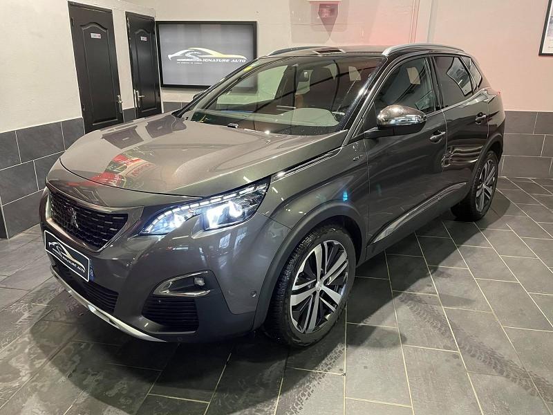 Peugeot 3008 2.0 BLUEHDI 180CH S&S GT EAT8 Diesel GRIS Occasion à vendre