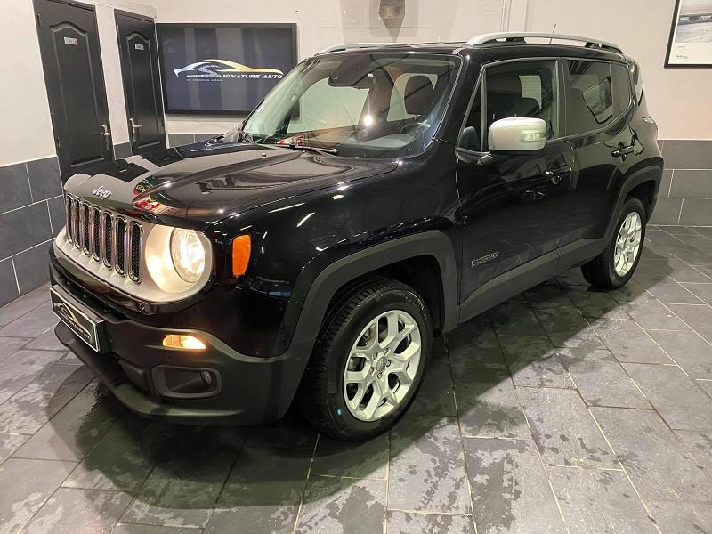 Jeep RENEGADE 2.0 MULTIJET S&S 140CH LIMITED 4X4 BVA9 Occasion à vendre