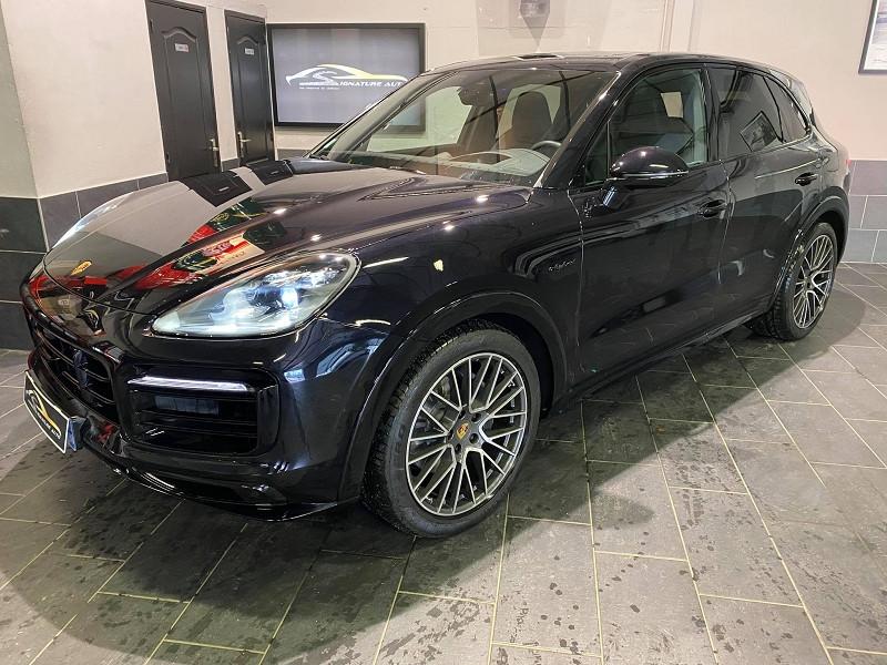 Porsche CAYENNE 3.0 462CH E-HYBRID EURO6D-T Hybride NOIR Occasion à vendre