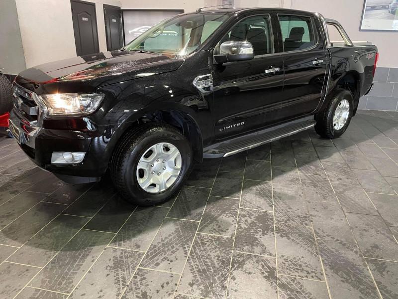 Ford RANGER 2.2 TDCI 160CH DOUBLE CABINE LIMITED Diesel NOIR Occasion à vendre