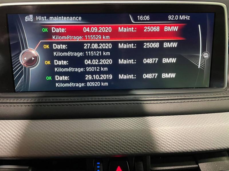 Photo 13 de l'offre de BMW X6 (F16) M50DA 381CH à 37990€ chez Signature auto