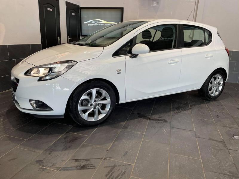 Opel CORSA 1.4 90CH DESIGN 120 ANS START/STOP 5P Essence BLANC Occasion à vendre