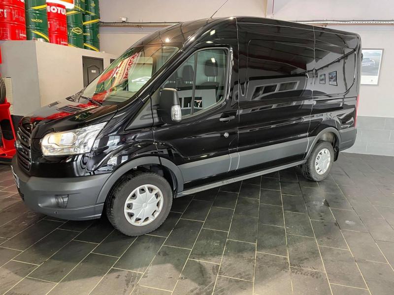Ford TRANSIT 2T FG T330 L2H2 2.0 ECOBLUE 130CH TREND BUSINESS Diesel NOIR Occasion à vendre