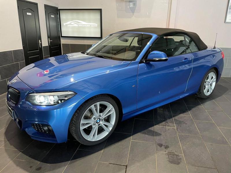 Photo 2 de l'offre de BMW SERIE 2 CABRIOLET (F23) 220IA 184CH M SPORT EURO6D-T à 34990€ chez Signature auto