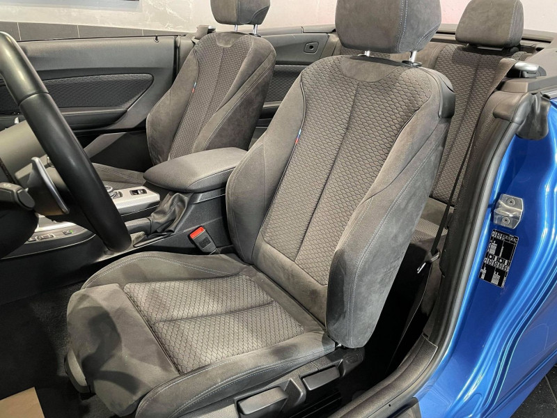 Photo 8 de l'offre de BMW SERIE 2 CABRIOLET (F23) 220IA 184CH M SPORT EURO6D-T à 34990€ chez Signature auto