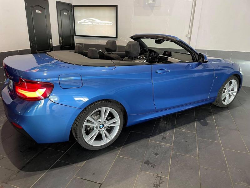 Photo 3 de l'offre de BMW SERIE 2 CABRIOLET (F23) 220IA 184CH M SPORT EURO6D-T à 34990€ chez Signature auto