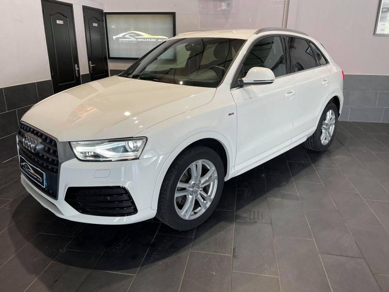 Audi Q3 2.0 TDI 150CH ULTRA S LINE Diesel BLANC Occasion à vendre