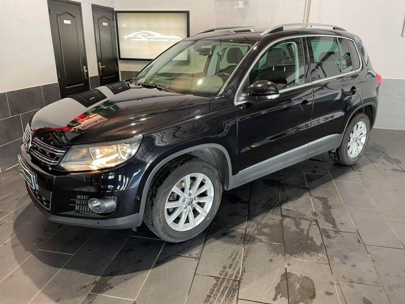 Volkswagen TIGUAN 1.4 TSI 160CH BLUEMOTION TECHNOLOGY SPORTLINE Essence NOIR Occasion à vendre