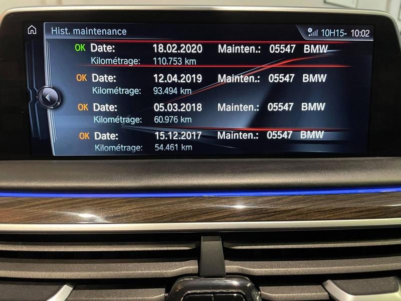 Photo 12 de l'offre de BMW SERIE 7 (G11/G12) 740DA XDRIVE 320CH EXCLUSIVE à 42990€ chez Signature auto