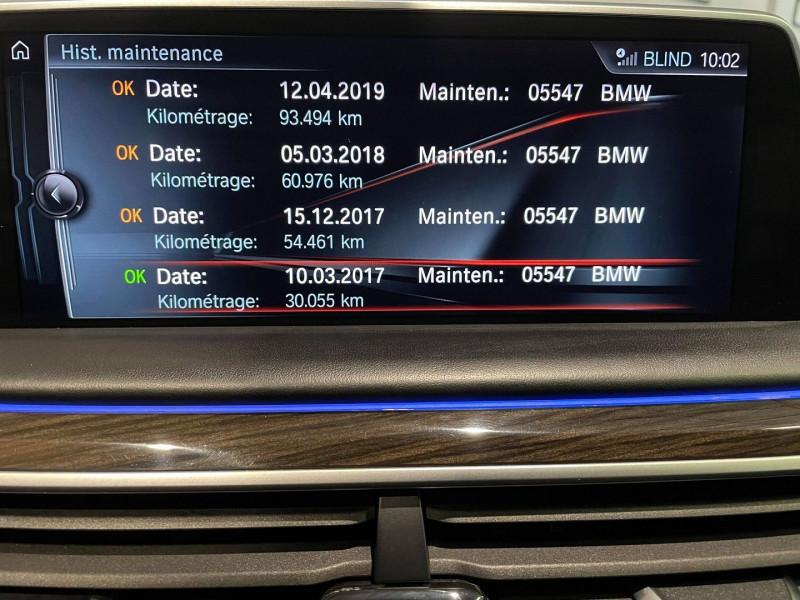 Photo 11 de l'offre de BMW SERIE 7 (G11/G12) 740DA XDRIVE 320CH EXCLUSIVE à 42990€ chez Signature auto