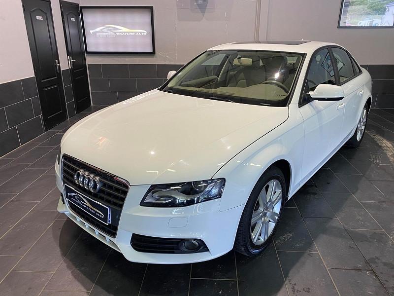 Audi A4 2.0 TFSI 211CH AMBIENTE QUATTRO S TRONIC 7 Essence BLANC Occasion à vendre