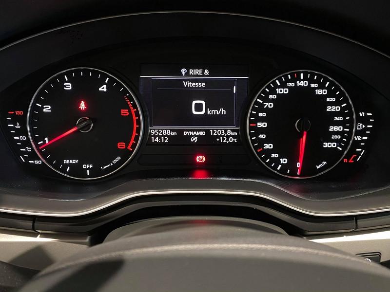 Photo 10 de l'offre de AUDI A4 2.0 TDI 190CH ULTRA DESIGN à 20990€ chez Signature auto