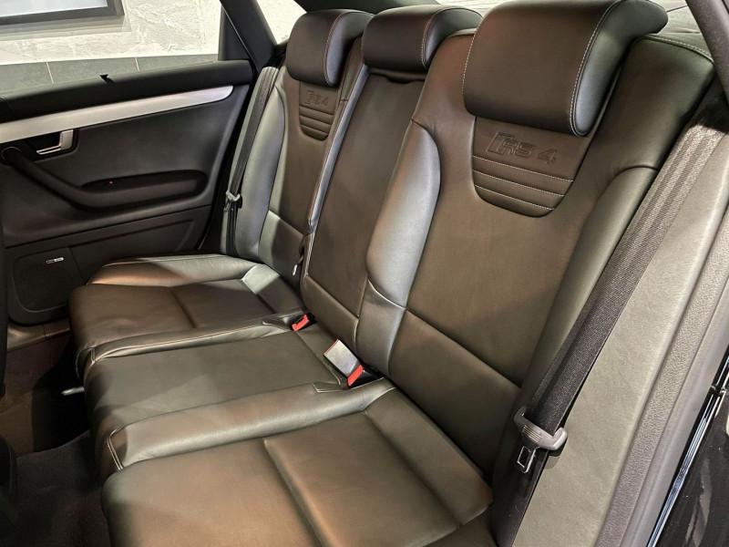 Photo 9 de l'offre de AUDI RS4 4.2 V8 420CH QUATTRO à 36990€ chez Signature auto